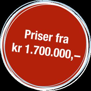 pris fra 1700000